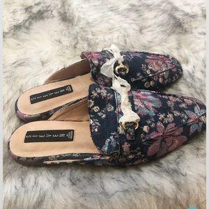 Steve Madden floral loafers